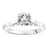Load image into Gallery viewer, Fink's Exclusive Round Diamond Four Prong Scroll Detail Solitaire Engagement Ring