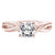Load image into Gallery viewer, Fink's Exclusive Round Diamond and Twisted Shank Engagement Ring