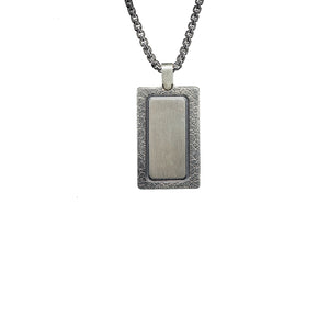 "William Henry P43 RTE ""Pinnacle"" Dog Tag Pendant"