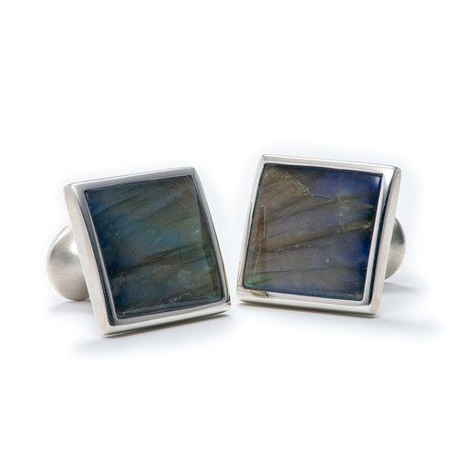 William Henry CL LAB Labradorite Duo Cufflinks