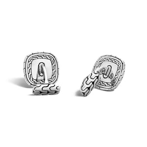 John Hardy Men's Classic Chain Square Sterling Silver Cufflinks