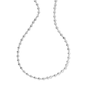 IPPOLITA Classico Sterling Silver Flat Hammered Bead Sautoir Necklace