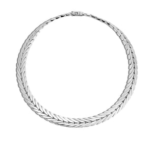 John Hardy Modern Chain 8mm Pusher Clasp Necklace