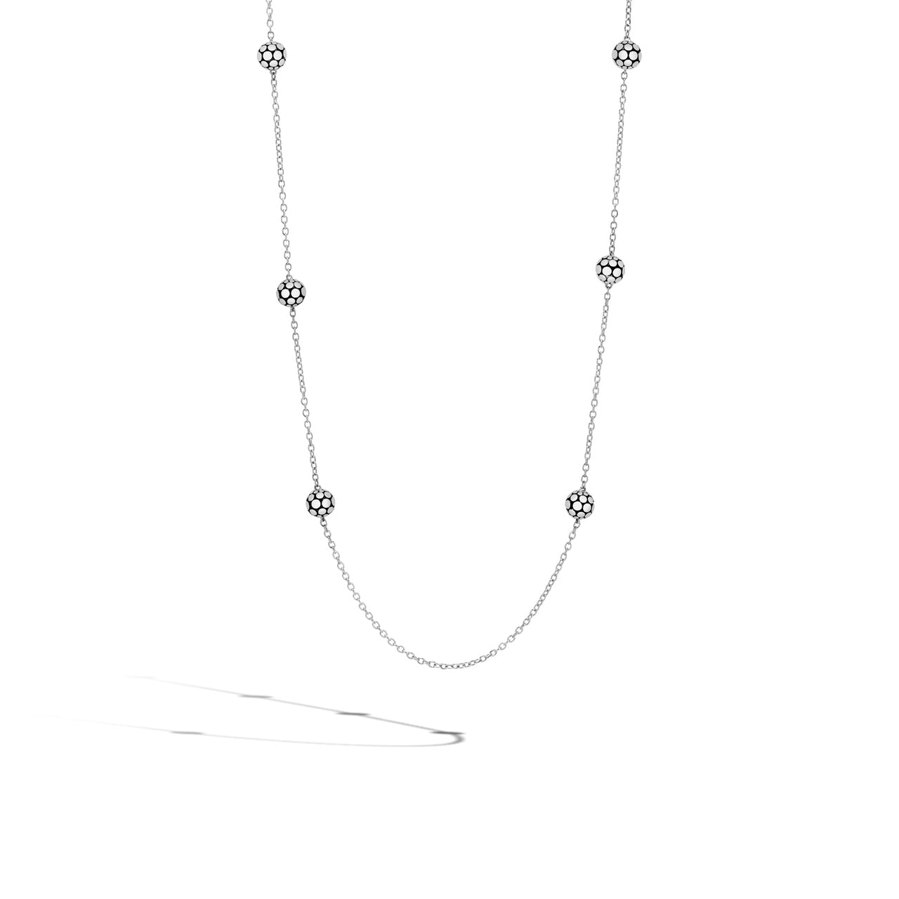 John Hardy Dot Sterling Silver Sautoir Necklace
