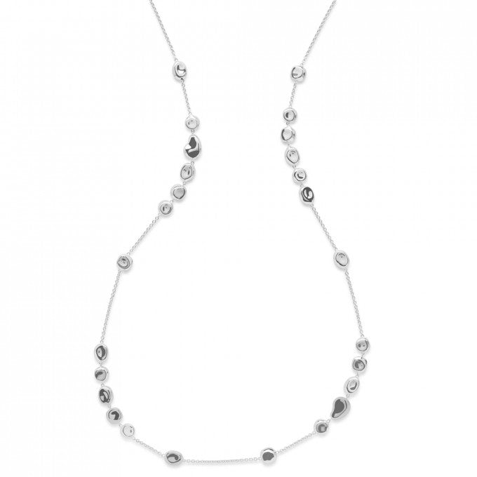 IPPOLITA Classico Sterling Silver Onda Station Necklace