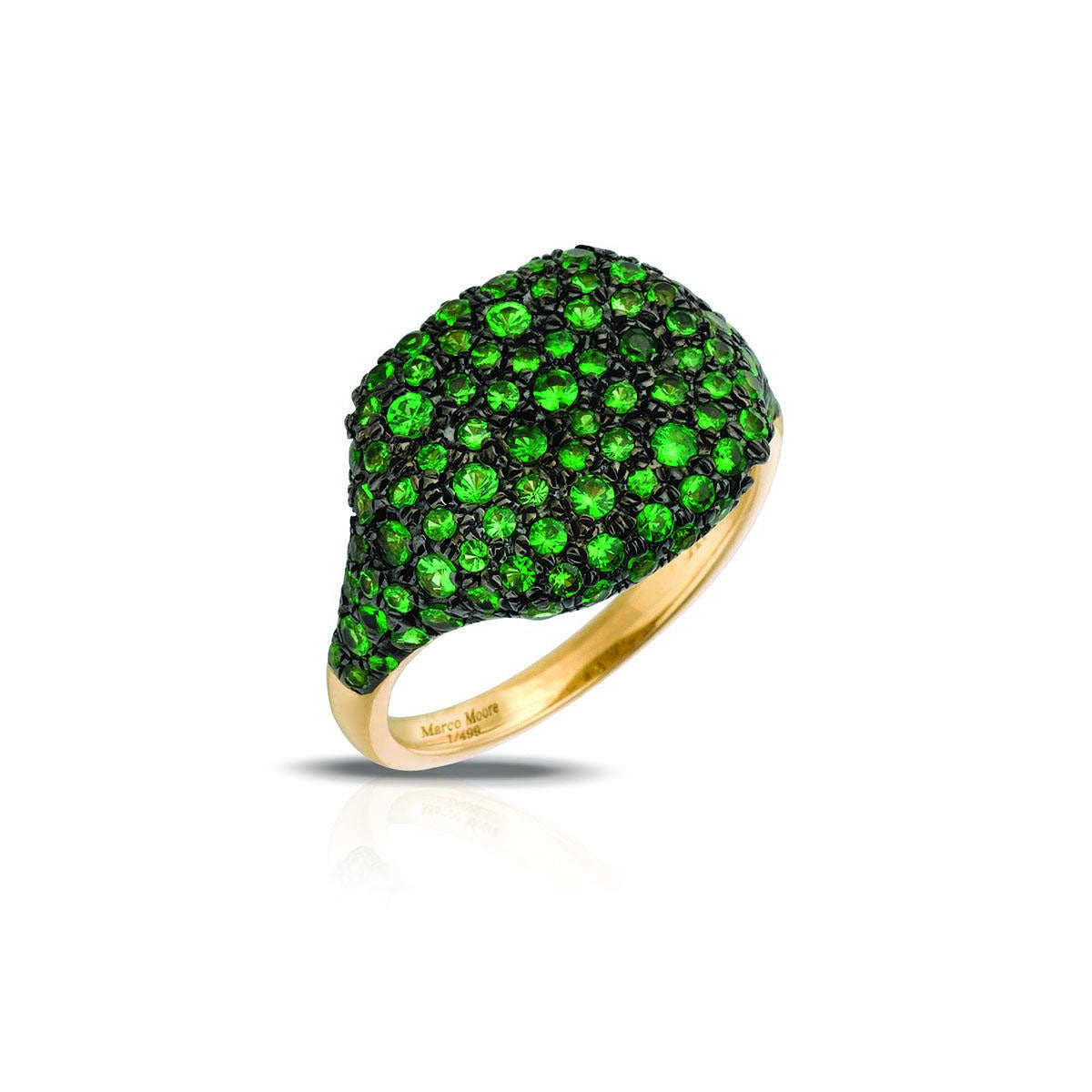Marco Moore 14K Yellow Gold Tsavorite Ring
