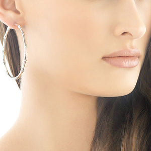 039999273 Large Hoop Earrings | John Hardy Bamboo Collection | Fink's