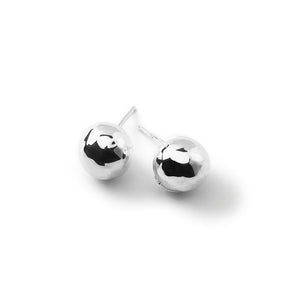 IPPOLITA Classico Sterling Silver Medium Hammered Ball Stud Earrings
