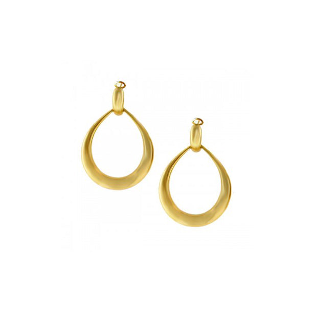 Roberto Coin Oro Classic 18K Yellow Gold Drop Earrings