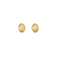 Marco Bicego Siviglia 18K Yellow Gold Oval Stud Earrings