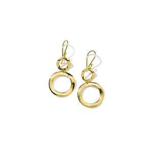 IPPOLITA Classico 18K Yellow Gold Mini Snowman Earrings