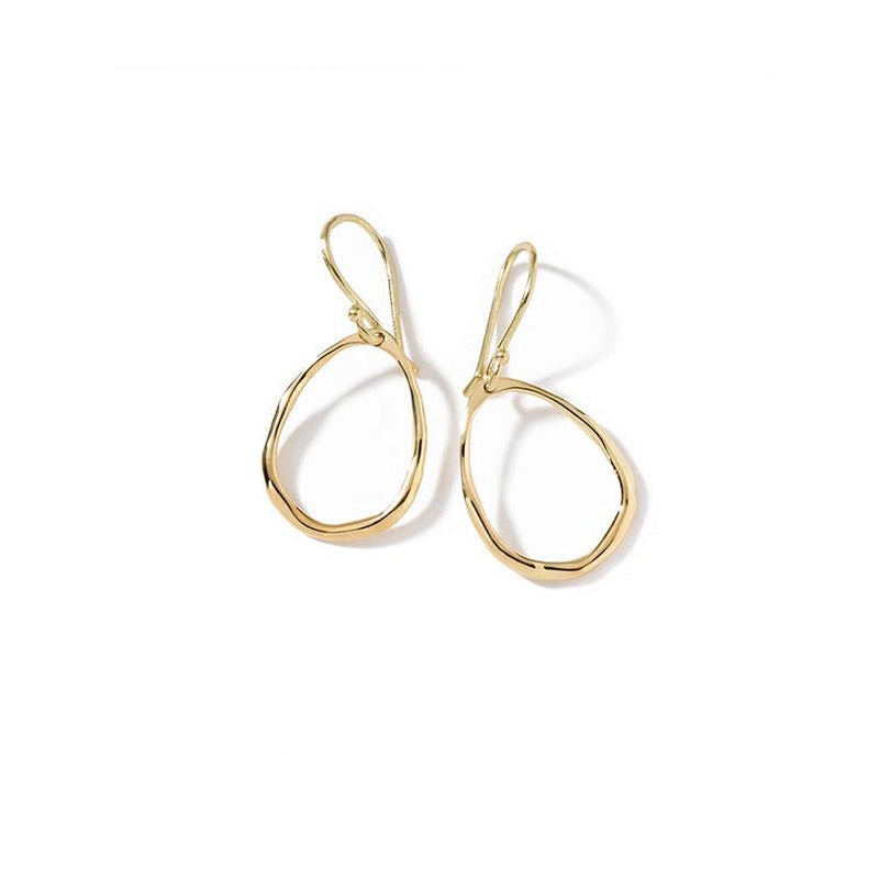 IPPOLITA Classico 18K Yellow Gold Mini Squiggle Oval Earrings