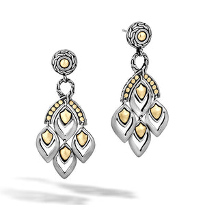 John Hardy Legends Naga Chandelier Earrings