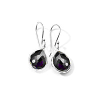 IPPOLITA Rock Candy® Sterling Silver Small Gemstone Teardrop Earrings in Hematite Doublet