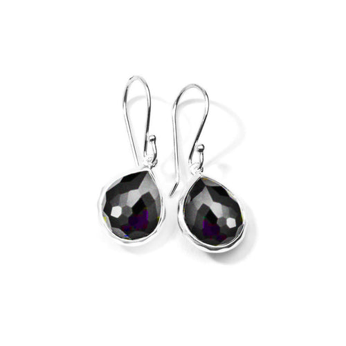 IPPOLITA Rock Candy® Mini Teardrop Earrings in Hematite Doublet