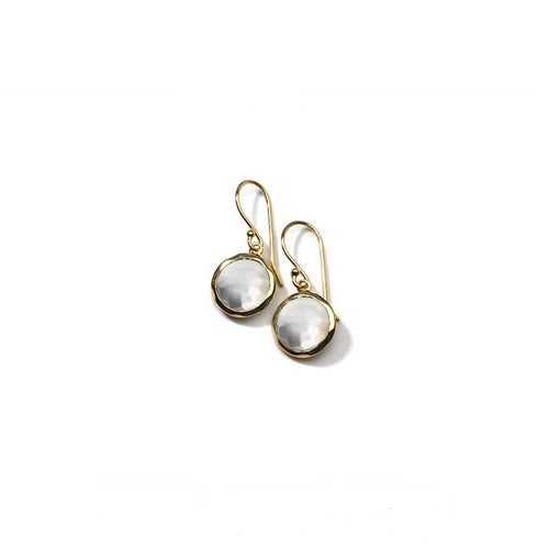 IPPOLITA Rock Candy® 18K Yellow Gold Lollipop Mini Earrings in Mother-of-Pearl