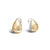Load image into Gallery viewer, John Hardy Classic Chain Two-Tone Buddha Belly Earrings with Palu Hand-Hammering