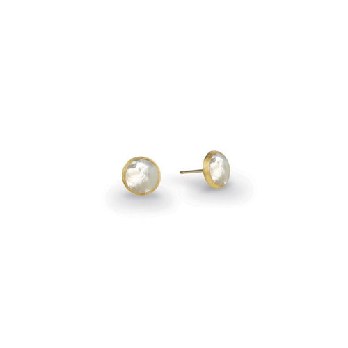 Marco Bicego Jaipur Color 18K Yellow Gold Mother-of-Pearl Stud Earrings