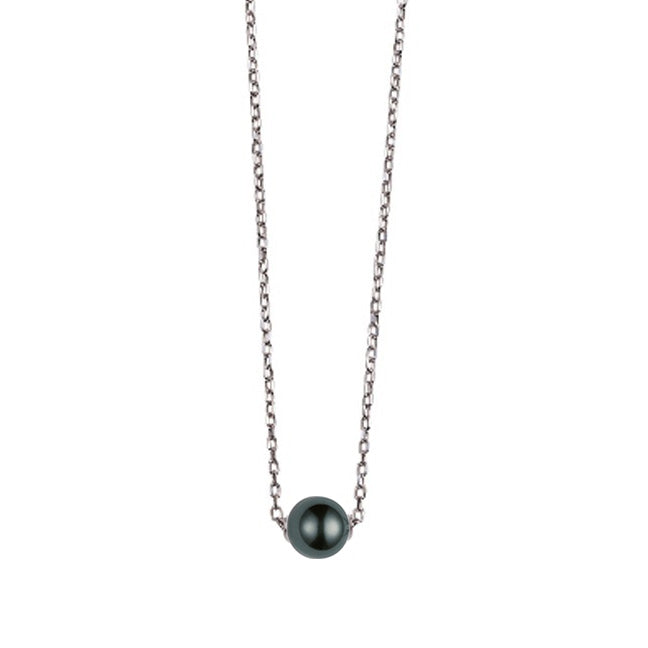 Mikimoto Japan 10mm Black South Sea Pearl Pendant