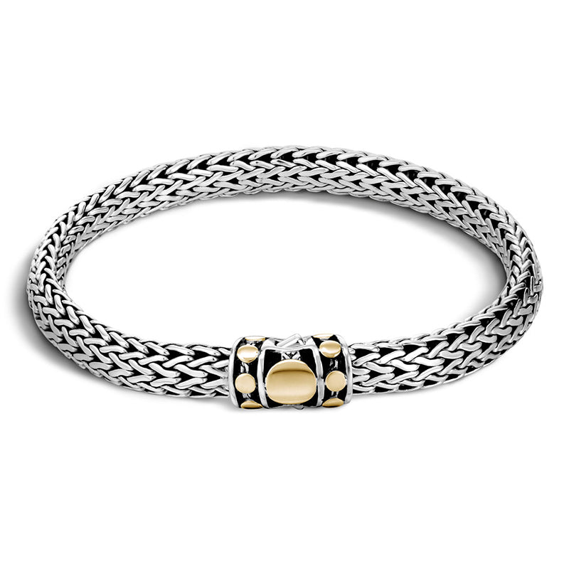 John Hardy Dot Deco Gold and Silver Bracelet