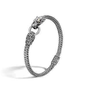 John Hardy Naga Dragon Head Chain Bracelet