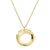 Load image into Gallery viewer, IPPOLITA Classico 18K Yellow Gold Mini Wavy Circle Pendant Necklace