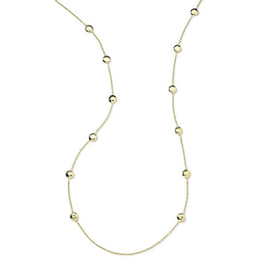 IPPOLITA Classico 18K Yellow Gold Pinball Long Station Necklace
