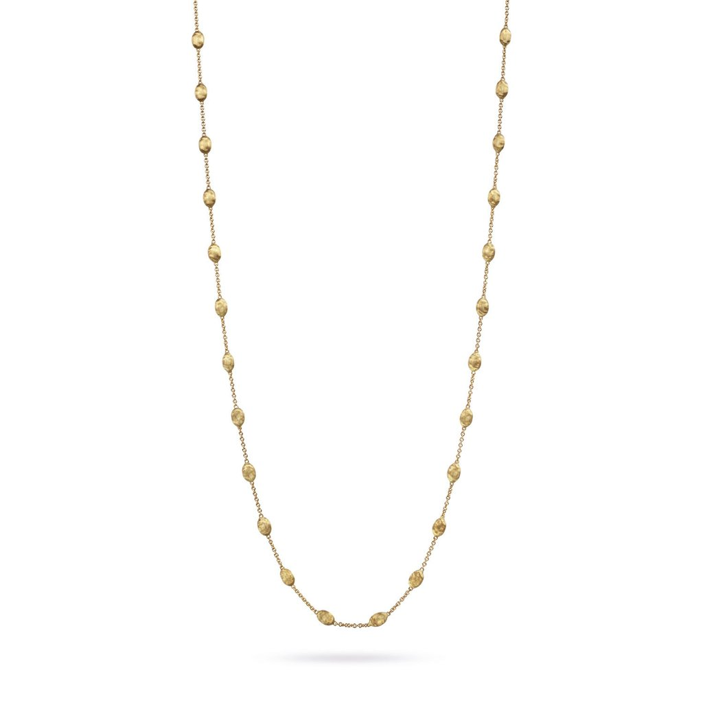 Marco Bicego Siviglia 18K Yellow Gold Small Bead Long Necklace
