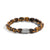 Load image into Gallery viewer, John Hardy Men's Classic Chain Sterling Silver Tiger's Eye Bracelet