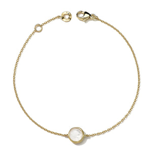 IPPOLITA Lollipop® 18K Yellow Gold Mini Mother-of-Pearl Station Bracelet