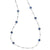 Load image into Gallery viewer, IPPOLITA Rock Candy® Sterling Silver Mini Lollipop Station Necklace in Lapis, Clear Quartz, and Mother-of-Pearl