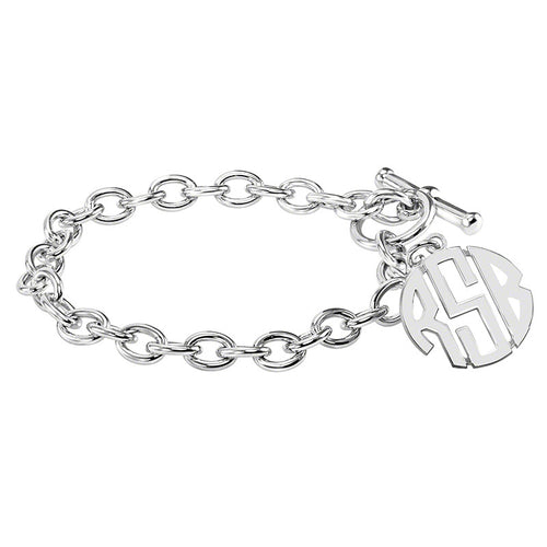 Fink's 20mm Classic Original Monogram Toggle Bracelet