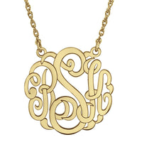 Fink's 25mm Custom Classic Monogram Necklace
