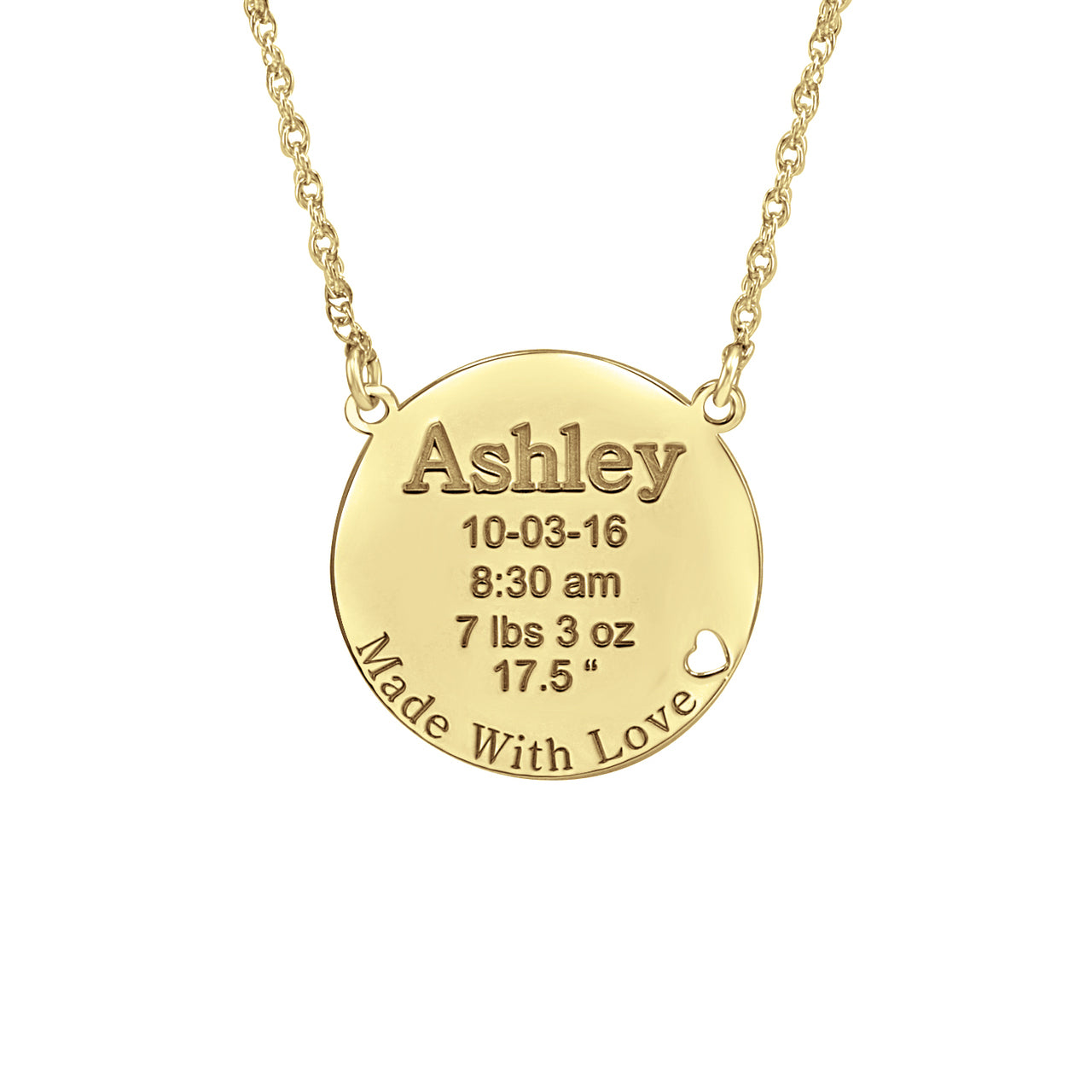 Custom order Personalized necklace