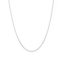 Fink's Jewelers 14K White Gold Cable Rope Chain Necklace