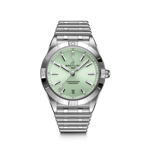 Breitling Chronomat Colt Automatic 36 with Green Dial - Available for Pre-Order
