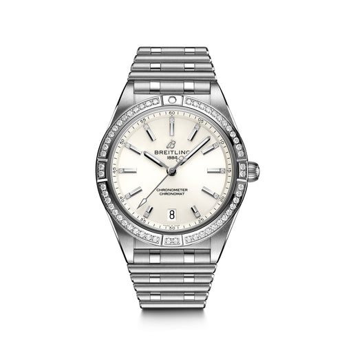 Breitling Chronomat Colt Automatic 36 with Diamond Bezel - Available for Pre-Order
