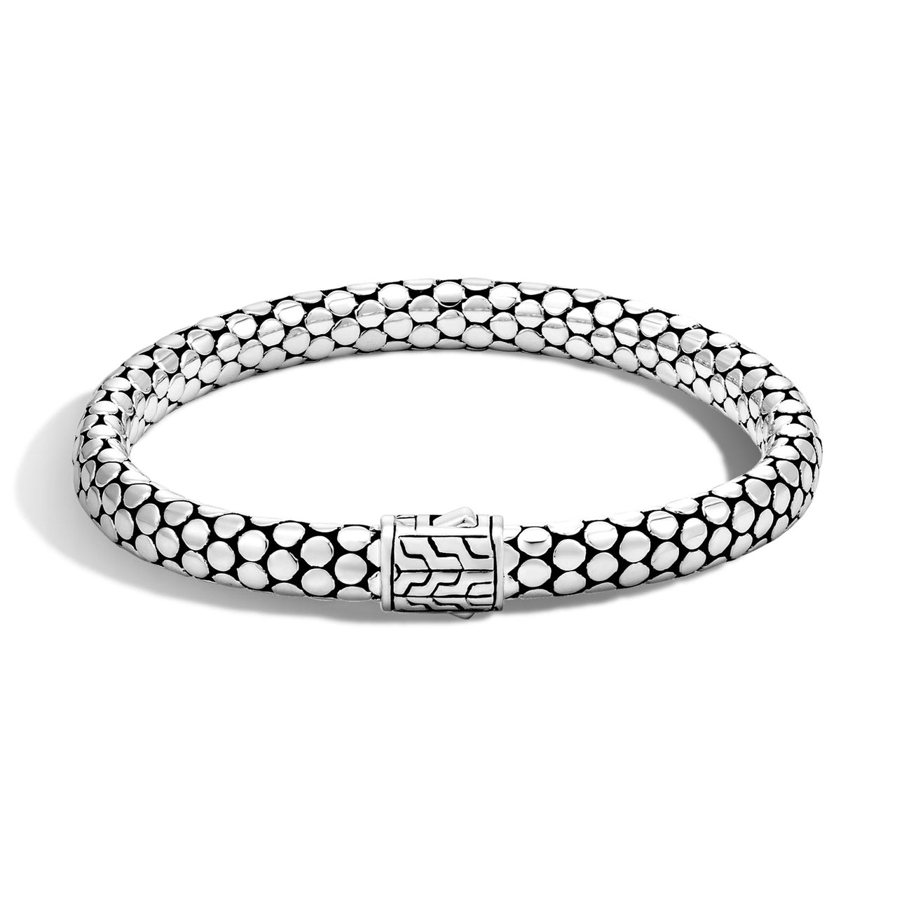 John Hardy Dot Sterling Silver 6.5mm Bracelet