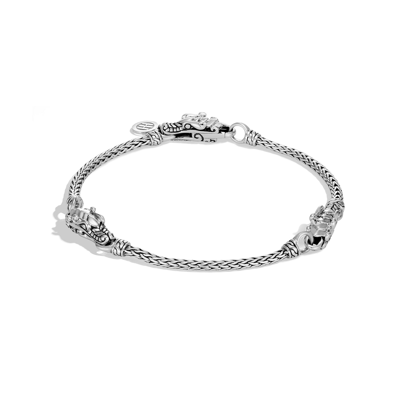 John Hardy Legends Sterling Silver Naga Triple Station Bracelet