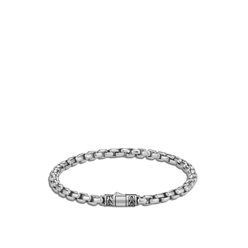 John Hardy Men's Classic Chain 5mm Sterling Silver Box Chain Bracelet