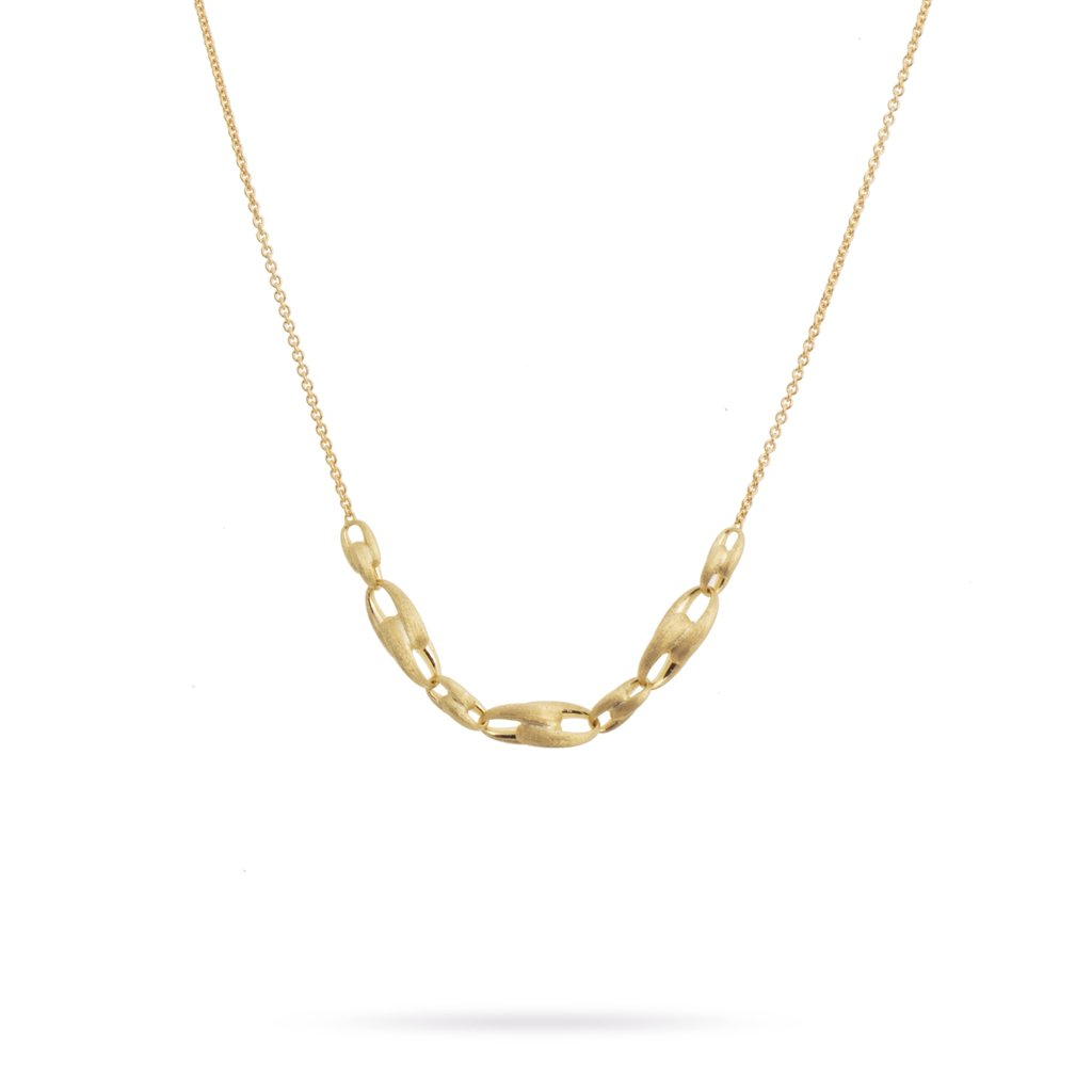 Marco Bicego Lucia 18K Yellow Gold Short Link Necklace