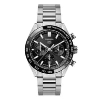 TAG Heuer Carrera Men's Automatic Sport Chronograph 44mm Black Dial Watch