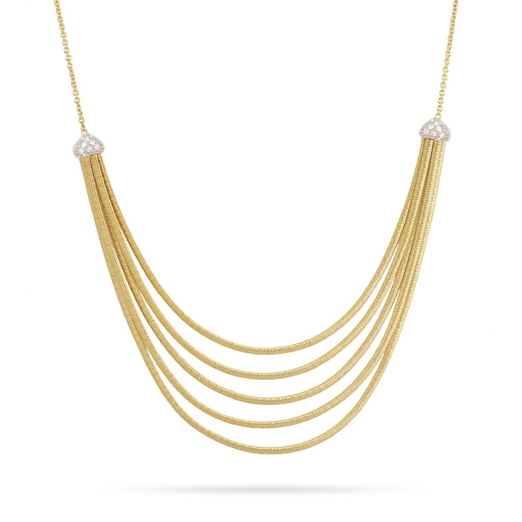 Marco Bicego Cairo 18K Yellow Gold 5 Strand Necklace