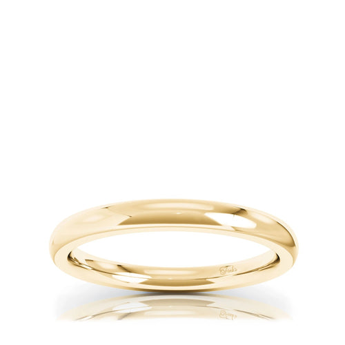 The Studio Collection Yellow Gold Matching Wedding Band