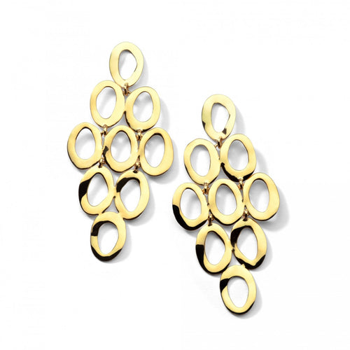 IPPOLITA Classico 18K Yellow Gold Open Cascade Earrings