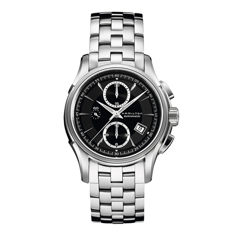 Hamilton Jazzmaster Auto Chrono Black Dial Watch