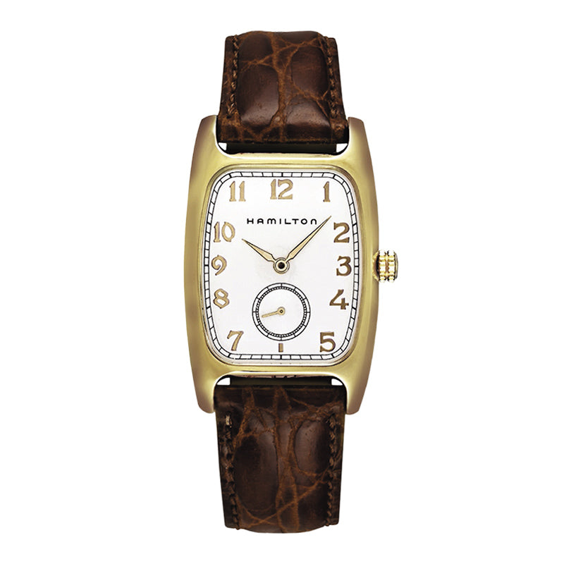 Hamilton Boulton Gold Plated Watch