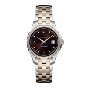 Hamilton Jazzmaster Viewmatic 40mm Watch with Brown Face