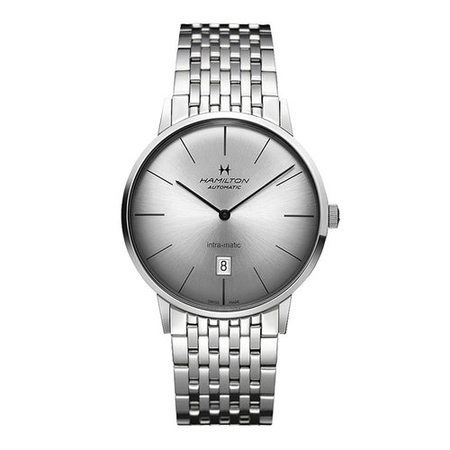 Hamilton Intra-Matic Auto Stainless Steel Watch