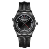 Hamilton Jazzmaster GMT Auto Black Dial Watch